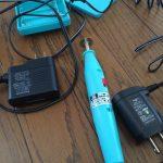 乾電池駆動のミニルーターをコンセント駆動に改造