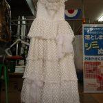 ウエディングドレスの黄変除去