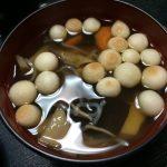お祝い・行事の定番は、会津郷土料理『こづゆ』にて・・・