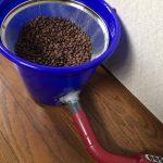 コーヒー焙煎後、豆を冷却する装置の自作