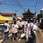 7月7日はお田植え祭りで太鼓台出陣!