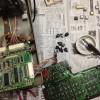 クリーニング用レジの修理