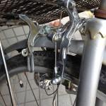 自転車ロングアームブレーキに交換