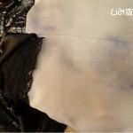 ドレス移染のしみ抜き
