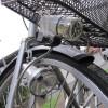 自転車にLEDライトを