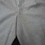 ズボン黄変の染み抜き・色かけ
