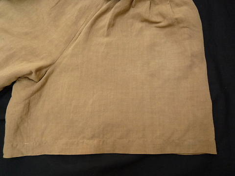 ベージュ脱色スカート色修正