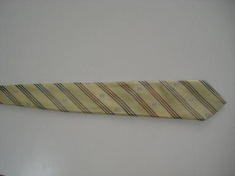 ネクタイ ストライプ色補正
