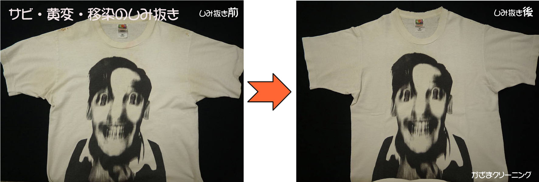 3D Tシャツを綺麗に